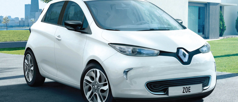 Renaults Zoe - Electric Car