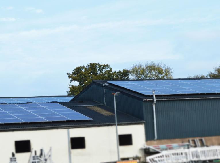 100 Kw Solar Panel Installation Huntington Hall Farm
