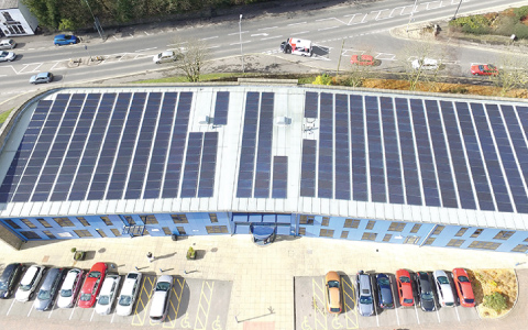 Rossendale Borough Council Solar Installation