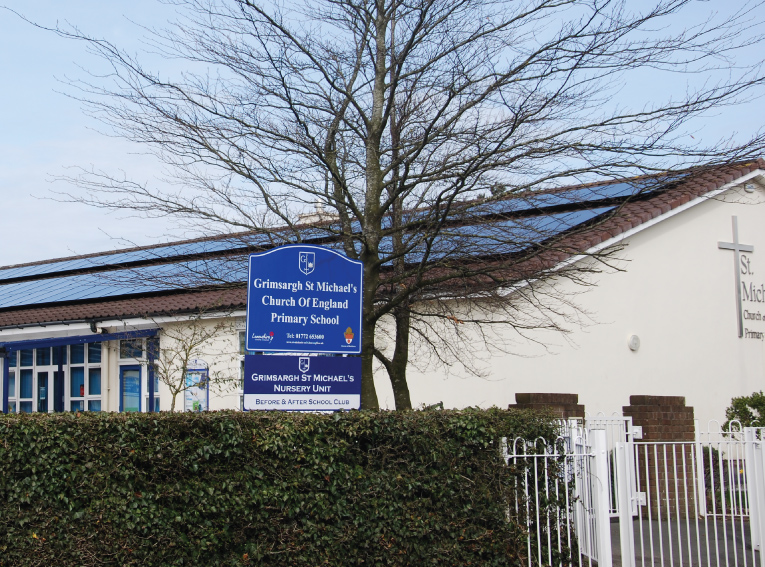30 Kw Solar Panel Installation St Michael S School