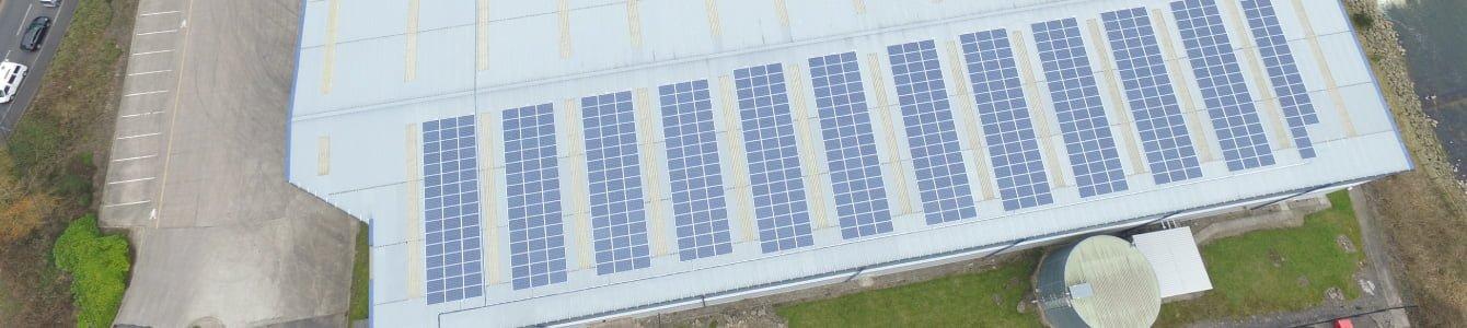 K2 Storage Solar Panel Installation