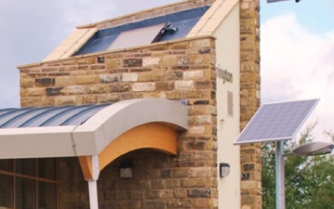 Accrington Eco Station Solar Panels