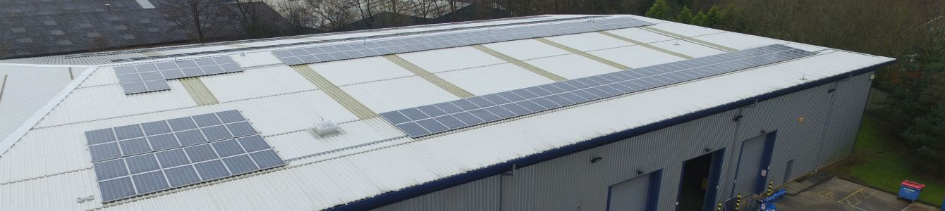 solar panels in manufacturing companies