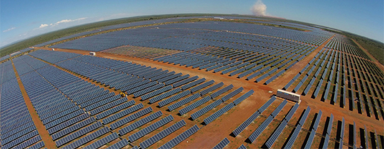 solar panels in chile