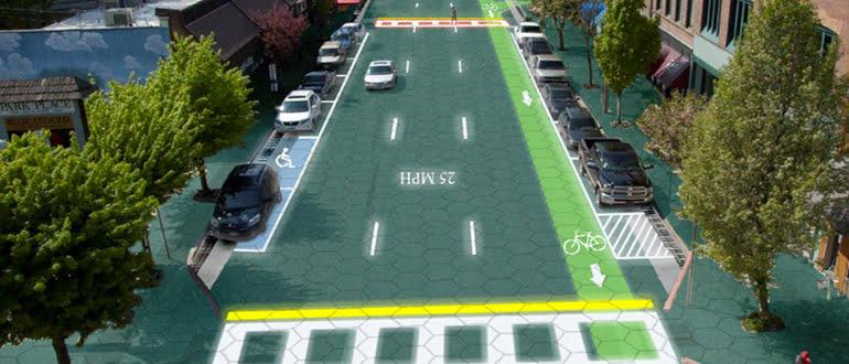 Solar roadways project