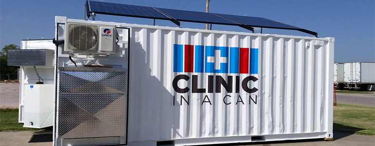 clinic in a can