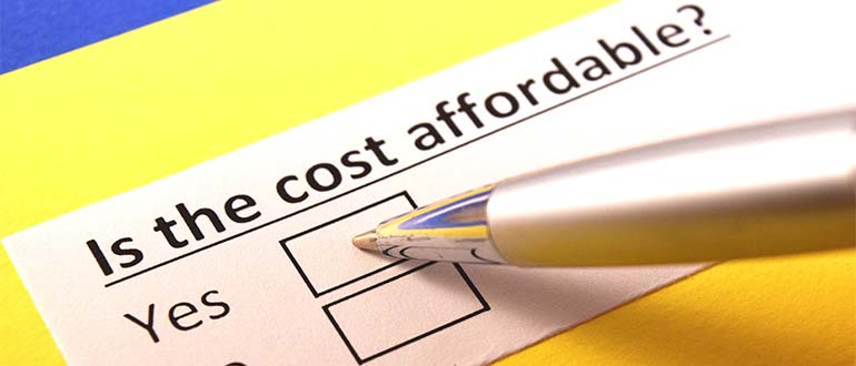 affordable costs