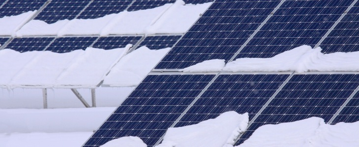 Snow-on-Solar-Panels