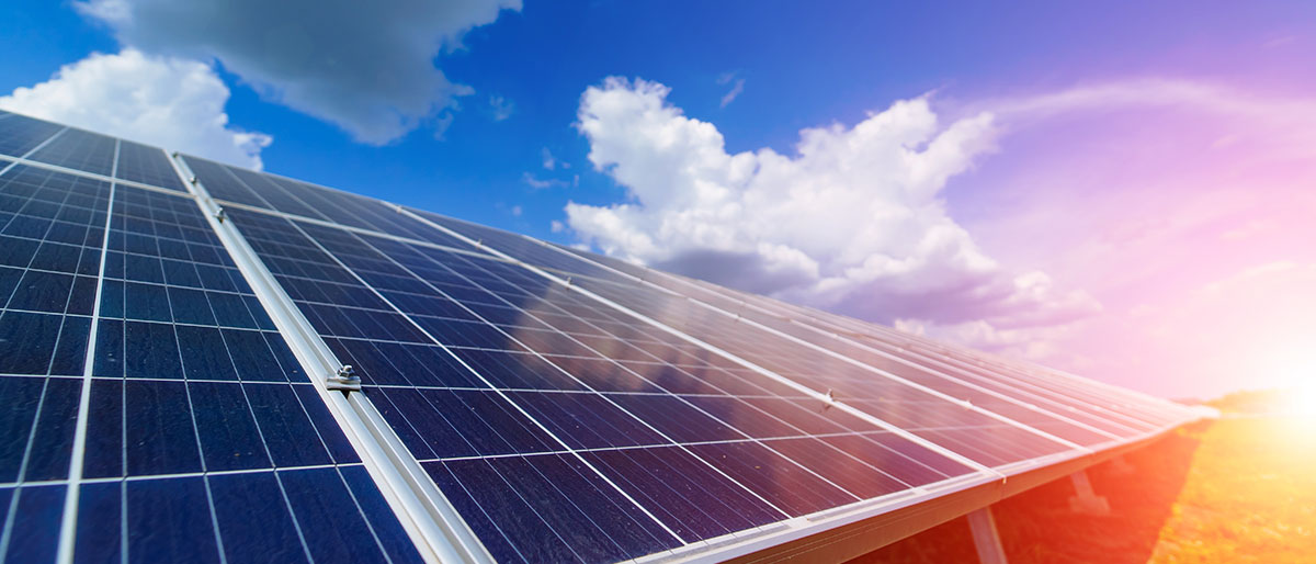 solar pannels sun