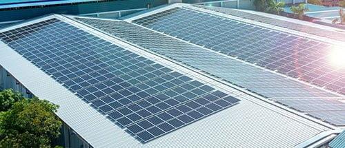 commercial solar pannels